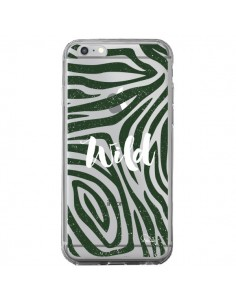 Coque Wild Zebre Jungle Transparente pour iPhone 6 Plus et 6S Plus - Lolo Santo