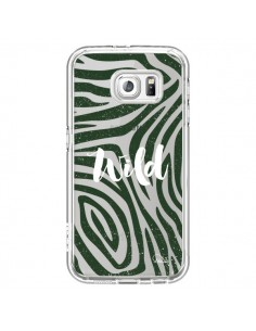 Coque Wild Zebre Jungle Transparente pour Samsung Galaxy S6 - Lolo Santo