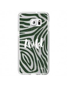 Coque Wild Zebre Jungle Transparente pour Samsung Galaxy S6 Edge Plus - Lolo Santo