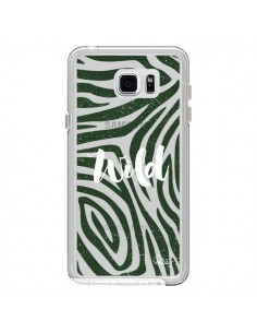 Coque Wild Zebre Jungle Transparente pour Samsung Galaxy Note 5 - Lolo Santo