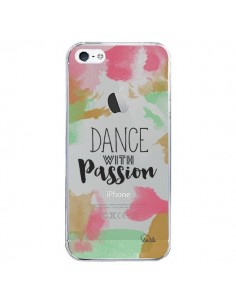 Coque Dance With Passion Transparente pour iPhone 5/5S et SE - Lolo Santo
