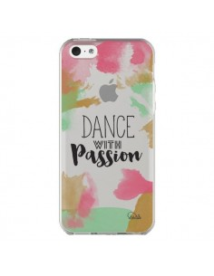 Coque iPhone 5C Dance With Passion Transparente - Lolo Santo
