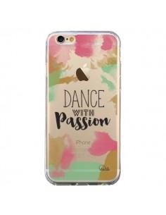 Coque iPhone 6 et 6S Dance With Passion Transparente - Lolo Santo