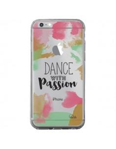 Coque iPhone 6 Plus et 6S Plus Dance With Passion Transparente - Lolo Santo