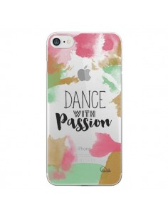 Coque Dance With Passion Transparente pour iPhone 7 - Lolo Santo