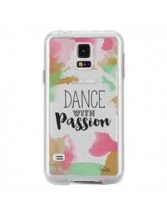 Coque Dance With Passion Transparente pour Samsung Galaxy S5 - Lolo Santo