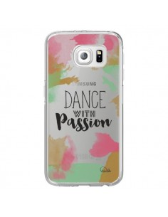 Coque Dance With Passion Transparente pour Samsung Galaxy S6 Edge - Lolo Santo