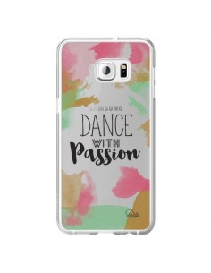 Coque Dance With Passion Transparente pour Samsung Galaxy S6 Edge Plus - Lolo Santo