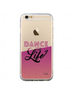 Coque iPhone 6 et 6S Dance Your Life Transparente - Lolo Santo