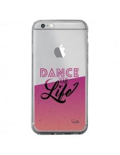 Coque iPhone 6 Plus et 6S Plus Dance Your Life Transparente - Lolo Santo