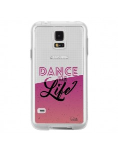 Coque Dance Your Life Transparente pour Samsung Galaxy S5 - Lolo Santo
