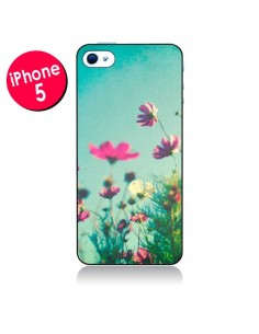 Coque Fleurs Reach for the Sky pour iPhone 5 - Sylvia Cook