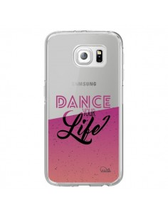 Coque Dance Your Life Transparente pour Samsung Galaxy S6 Edge - Lolo Santo