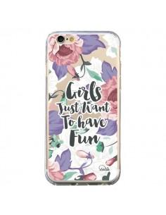 Coque iPhone 6 et 6S Girls Fun Transparente - Lolo Santo