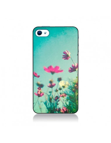 Coque Fleurs Reach for the Sky pour iPhone 4 et 4S - Sylvia Cook