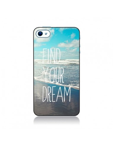 Coque Find your Dream pour iPhone 4 et 4S - Sylvia Cook