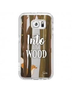 Coque Into The Wild Renard Bois Transparente pour Samsung Galaxy S7 - Lolo Santo