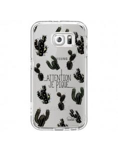 Coque Cactus Je Pique Transparente pour Samsung Galaxy S7 - Lolo Santo