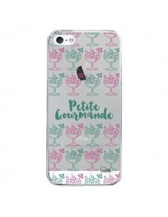 Coque iPhone 5/5S et SE Petite Gourmande Glaces Ete Transparente - Lolo Santo