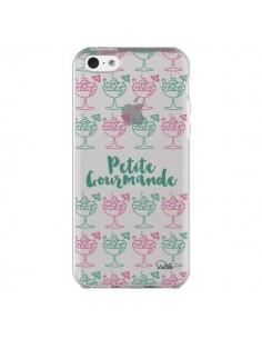 Coque Petite Gourmande Glaces Ete Transparente pour iPhone 5C - Lolo Santo