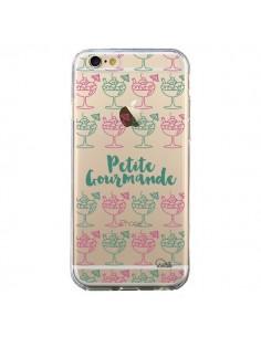 Coque iPhone 6 et 6S Petite Gourmande Glaces Ete Transparente - Lolo Santo