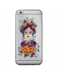 Coque Femme Closed Eyes Santa Muerte Transparente pour iPhone 6 Plus et 6S Plus - Chapo