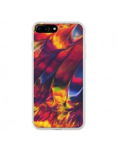 Coque iPhone 7 Plus et 8 Plus Explosion Galaxy - Eleaxart