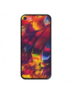 Coque Explosion Galaxy pour iPhone 5C - Eleaxart