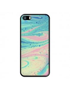 Coque Jade Galaxy pour iPhone 5/5S et SE - Eleaxart