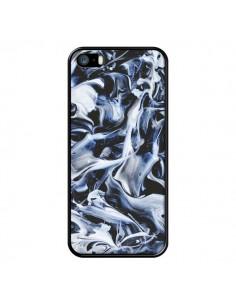 Coque Mine Galaxy Smoke pour iPhone 5/5S et SE - Eleaxart