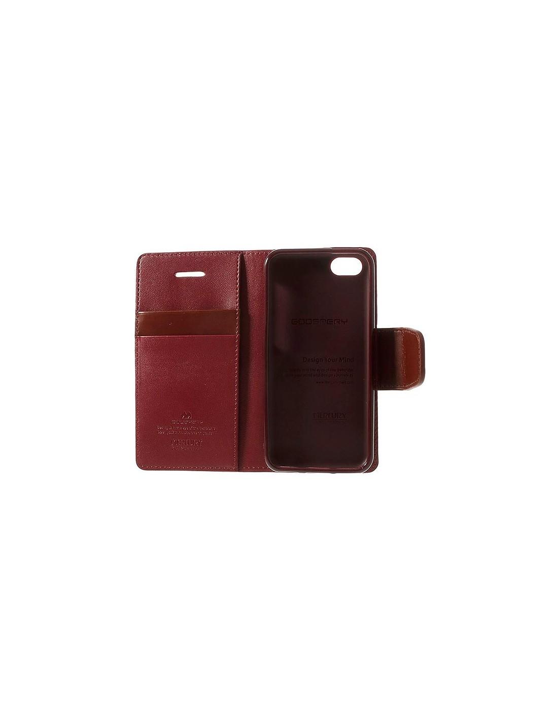 Etui iphone 5c cuir - Achat / Vente pas cher Coque cuir iphone 5c - Achat / Vente pas cher Housse Cuir iPhone 5C Protection Luxe - Issentiel