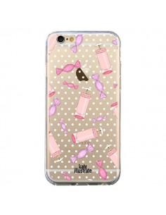 Coque Candy Bonbons Transparente pour iPhone 6 et 6S - kateillustrate
