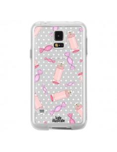 Coque Candy Bonbons Transparente pour Samsung Galaxy S5 - kateillustrate