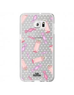 Coque Candy Bonbons Transparente pour Samsung Galaxy S6 Edge Plus - kateillustrate