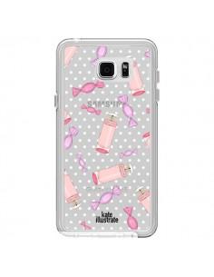 Coque Candy Bonbons Transparente pour Samsung Galaxy Note 5 - kateillustrate