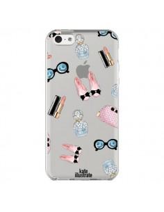 Coque Essential Beautiful Belle Essentiel Transparente pour iPhone 5C - kateillustrate