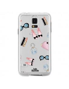 Coque Essential Beautiful Belle Essentiel Transparente pour Samsung Galaxy S5 - kateillustrate