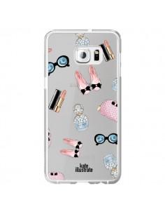 Coque Essential Beautiful Belle Essentiel Transparente pour Samsung Galaxy S6 Edge Plus - kateillustrate