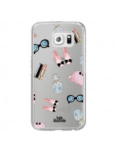 Coque Essential Beautiful Belle Essentiel Transparente pour Samsung Galaxy S7 Edge - kateillustrate