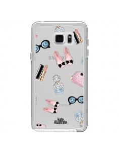 Coque Essential Beautiful Belle Essentiel Transparente pour Samsung Galaxy Note 5 - kateillustrate