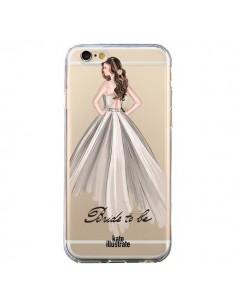 Coque Bride To Be Mariée Mariage Transparente pour iPhone 6 et 6S - kateillustrate