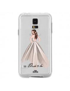 Coque Bride To Be Mariée Mariage Transparente pour Samsung Galaxy S5 - kateillustrate