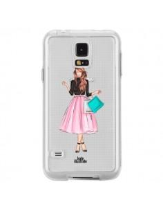 Coque Shopping Time Transparente pour Samsung Galaxy S5 - kateillustrate