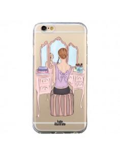Coque Vanity Coiffeuse Make Up Transparente pour iPhone 6 et 6S - kateillustrate