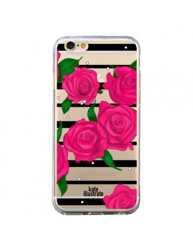 coque iphone 6 roses fleurs