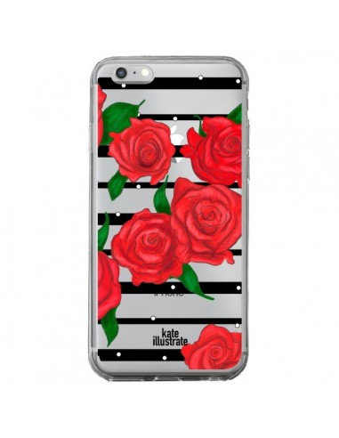 coque iphone 6 plus rose rouge