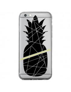 Coque Ananas Noir Transparente pour iPhone 6 Plus et 6S Plus - Koura-Rosy Kane