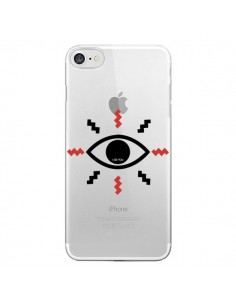Coque Eye I See You Oeil Transparente pour iPhone 7 - Koura-Rosy Kane