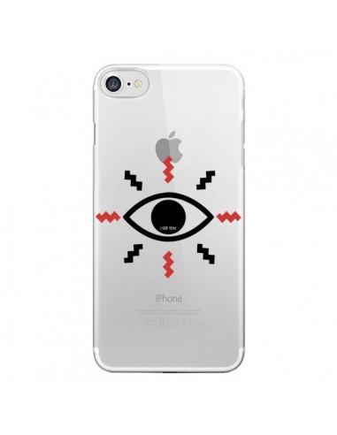 coque iphone 7 oeil