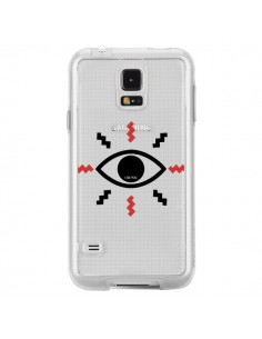 Coque Eye I See You Oeil Transparente pour Samsung Galaxy S5 - Koura-Rosy Kane